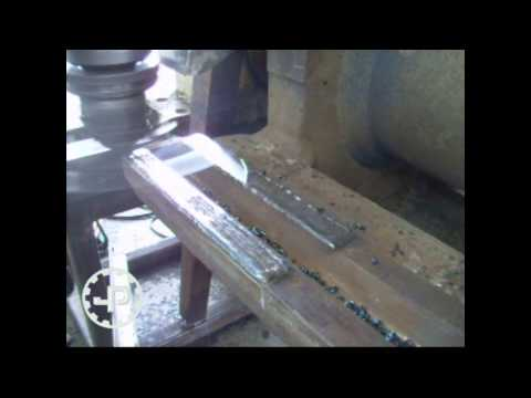 Mine sector : Milling hammers seats on a crusher rotor | Fra