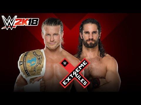 WWE 2K18 - EXTREME RULES 2018: Dolph Ziggler vs Seth Rollins
