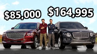 2021 Genesis GV80 vs The Cheapest Bentley Bentayga You Can Buy