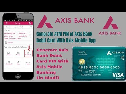 Axis bank forex card pin generation