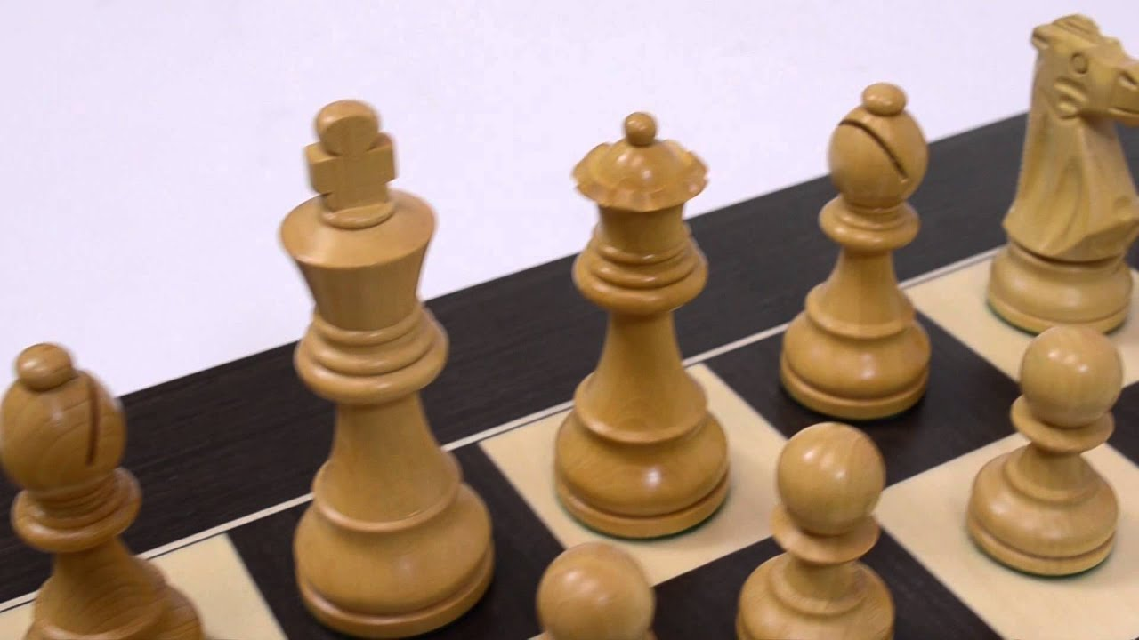 French Wooden Chess Pieces Wholesale Chess Youtube