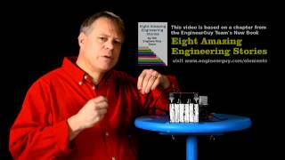 Bill explains the essential principles of a lead-acid battery. He s...