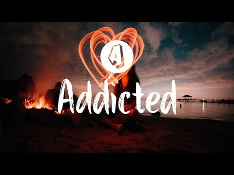 Shaun Frank feat. Violet Days - Addicted (Lyrics / Lyric Video) Midnight Kids Remix