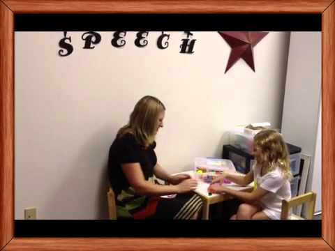 Speech therapy targeting k and g sounds