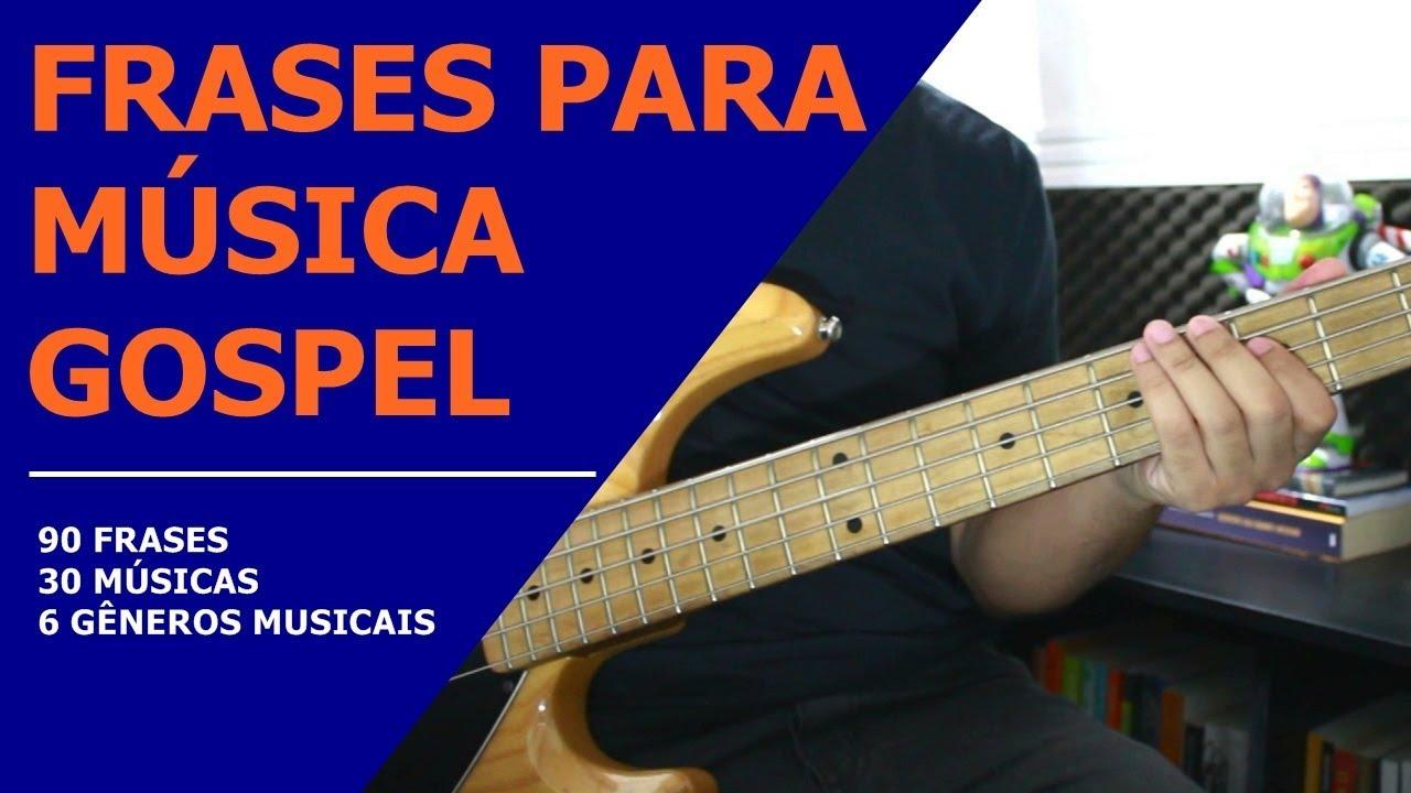 Aula De Baixo Frases Para Música Gospel Curso Online