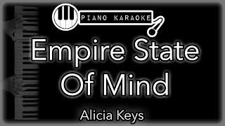 Empire State Of Mind (Part II) - Alicia Keys - Piano Karaoke Instrumental