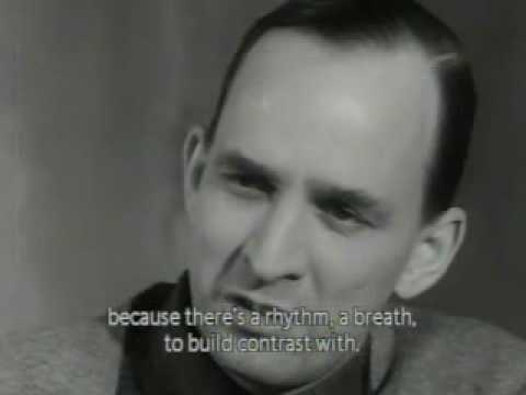 Ingmar Bergman Makes a Movie (Winter Light) - excerpt