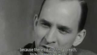 Ingmar Bergman Makes a Movie (Winter Light) - excerpt