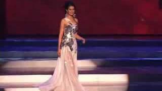 Thailand - Miss Universe 2008 Presentation - Evening Gown