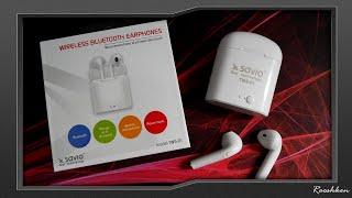 Savio TWS-01 - Niedrogie słuchawki bezprzewodowe TWS