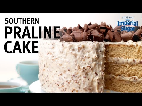 How to Make a Southern Praline Cake with Buttercream Pecan Frosting Recipe