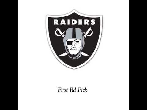 2019 Mock Oakland Raiders Draft Thanksgiving Edition