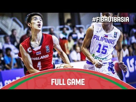 Philippines v Thailand - Full Game - 2016 FIBA Asia U18 Championship