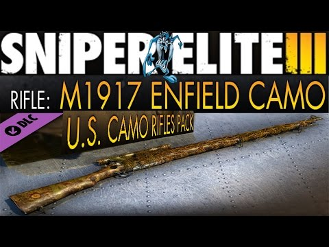 RIFLE:1917 ENFIELD (tuned & camouflage) Gameplay,S.E.III |