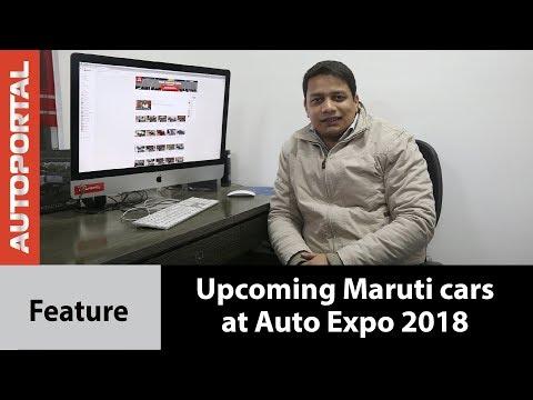 Top upcoming Maruti Suzuki cars at Auto Expo 2018