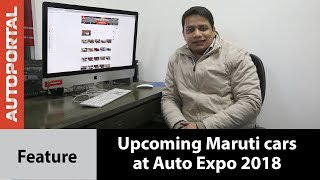 Top upcoming Maruti Suzuki cars at Auto Expo 2018