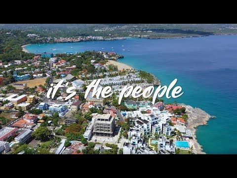 It's the people. Dominican Republic