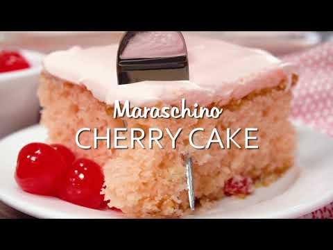 How to make: Maraschino Cherry Cake