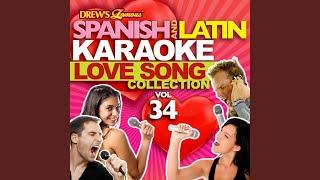 No Sirvo para Estar Sin Ti (Karaoke Version)