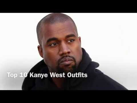 Top 10 Kanye West Outfits