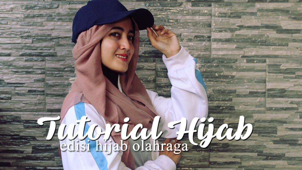 Tutorial Hijab Simple Untuk Berolahraga Youtube