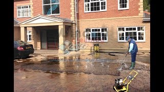 Block paving cleaning / Restoration by Window Cleaning Xpert - Leicester and East Midlands