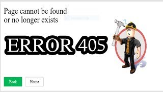 "TRAGIC ROBLOX Sad Story ""Error 405"""