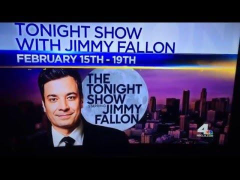 Jimmy Fallon Treasure Hunt - Los Angeles 2016