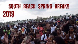 SPRING BREAK 2019 SOUTH BEACH!
