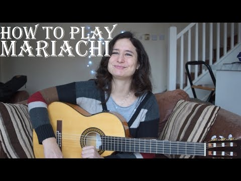 How to play mariachi or Mexican strumming - guitar lesson ✔