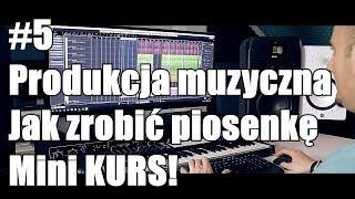 vlog #5 Produkcja muzyczna,  Jak zrobić piosenkę, MiniK kurs  Disco Polo 2018