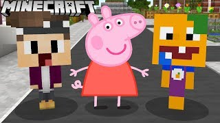 PEPPA PIG IST IN DER STADT IN MINECRAFT!