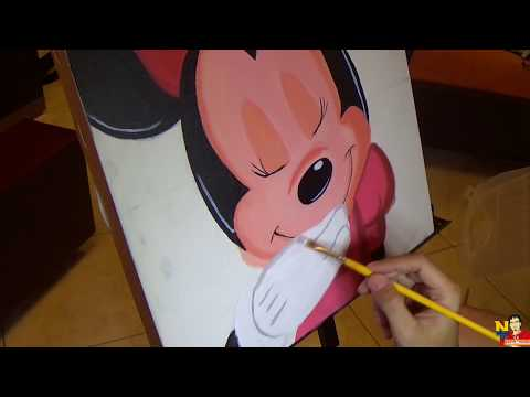 Painting To Minnie Mouse (Pintando A Minnie Mouse)NITO OCHOA