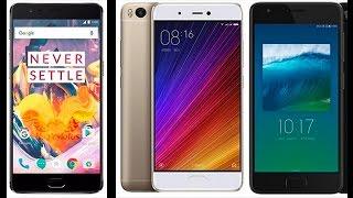 OnePlus 3T - Xiaomi Mi 5s - LeNovo Zuk Z2
