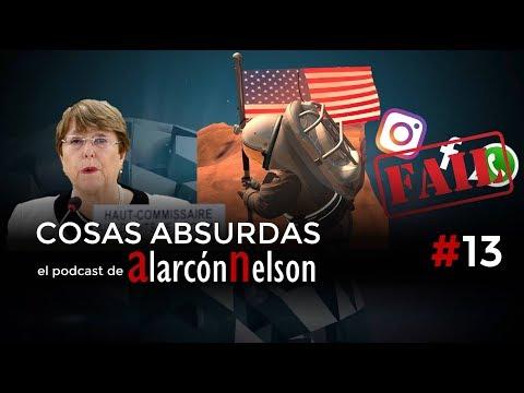 ▶ COSAS ABSURDAS #13 - Misión #Marte - Reporte Bachelet - Paradero de Santrich