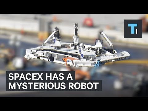 SpaceX has a Roomba-like robot but no one knows what it really is