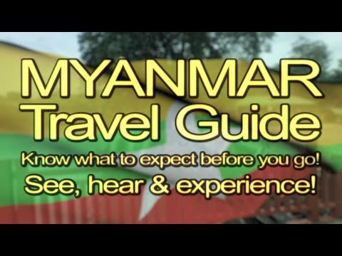 AWALK - EP130 - 1 Hour - Myanmar Travel Guide - Season 1
