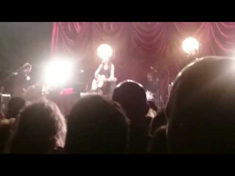 Amy Macdonald, this is the life @ the  ironworks Inverness