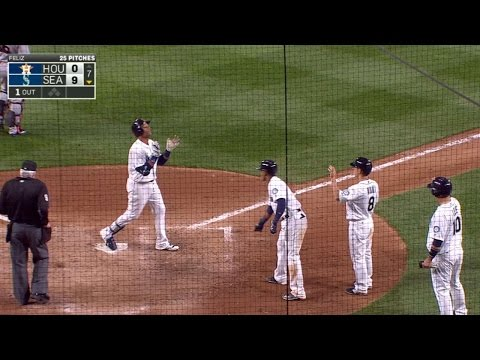 4/26/16: Cano, Karns lead Mariners to win over Astros