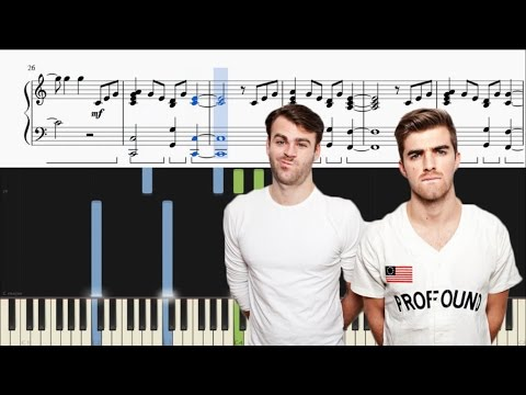 The Chainsmokers - Break Up Every Night - Piano Tutorial + SHEETS