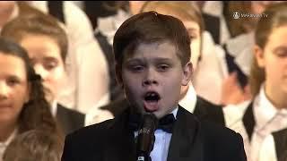 �������� ���� Детский хор   Хор Хороший Музыка А  Пахмутова Стихи Н  Добронравов 2014 ������