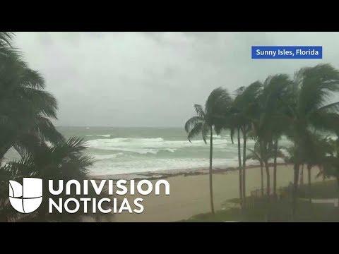 El amanecer en Florida horas antes de la llegada de Irma
