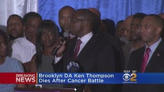 Brooklyn DA Ken Thompson Dies