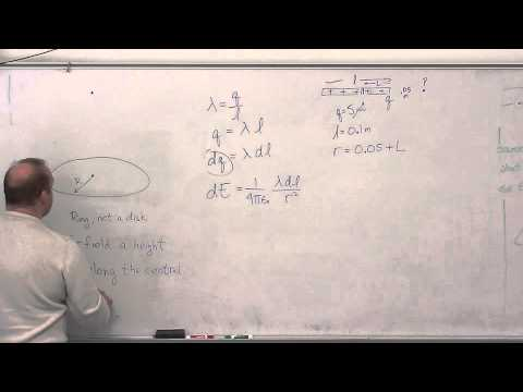 Calculating the magnetic field for a distribution of charges