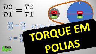 TORQUE EM POLIAS - Como Calcular