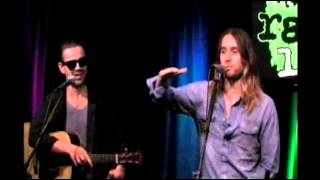Repeat youtube video Thirty Seconds to Mars - Live @ Radio 1045 Studio Session 9.29.2013 (Complete)