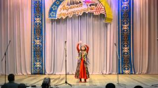 сольный узбекский танец