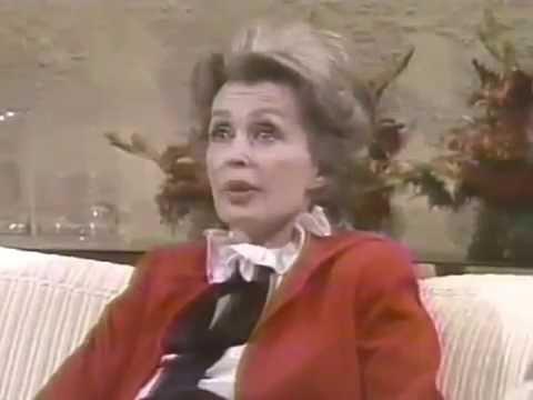Lilli Palmer, 1982 TV Interview