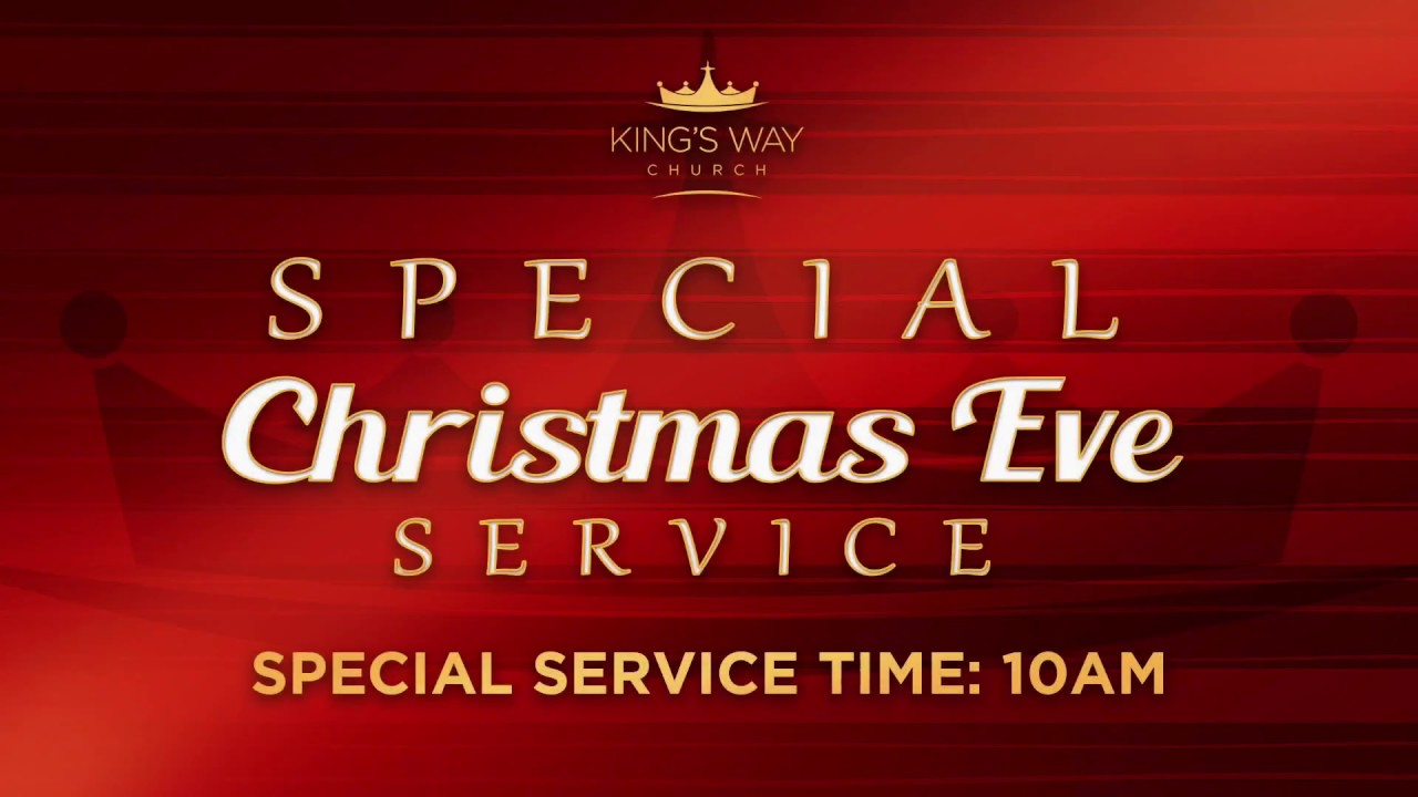 Special Christmas Eve Celebration this Sunday, December 24th: Invite ...