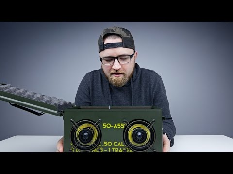 A Speaker In An Ammo Box?